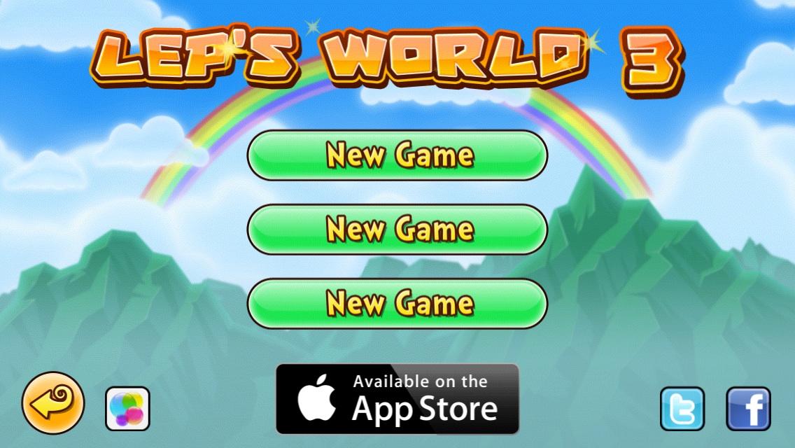 GAME PATTERNS Mobile Games Design Inspiration - Game menu design